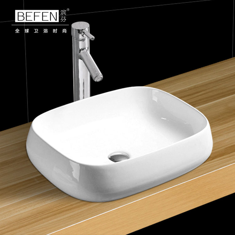 Excellent quality bathroom ceramic simple wash art basin for hotel
