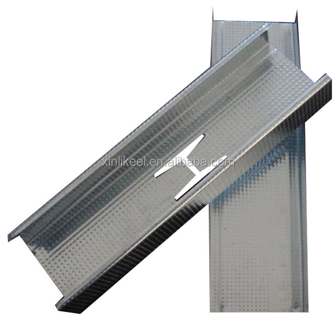 High quality Drywall System Metal Stud And Track building profile materials