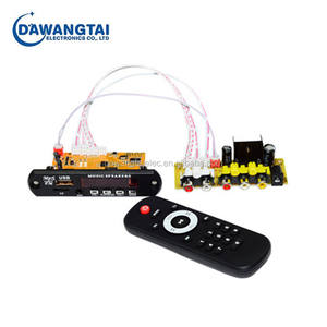 DTS Lossless Decoding Blue tooth Receiver Board With Rear Board MP4 /MP5 Audio HD Video Decoder APE WAV MP3 Decoder Board