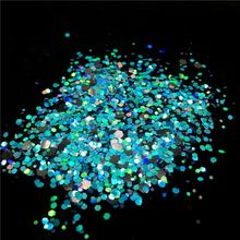Exclusive Design Series Factory Bulk Wholesale Sky Luxury Poly Holographic Mix Color Face Fairy Sequin Body Glitter Eye shadow