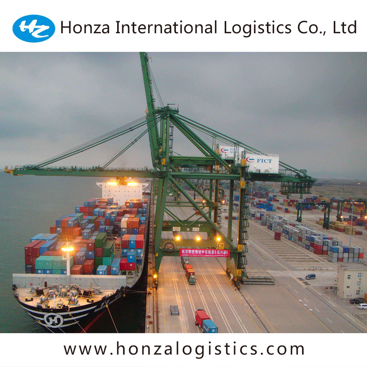 fast direct container service freight forwarding agent fcl shipment from china to South Africa