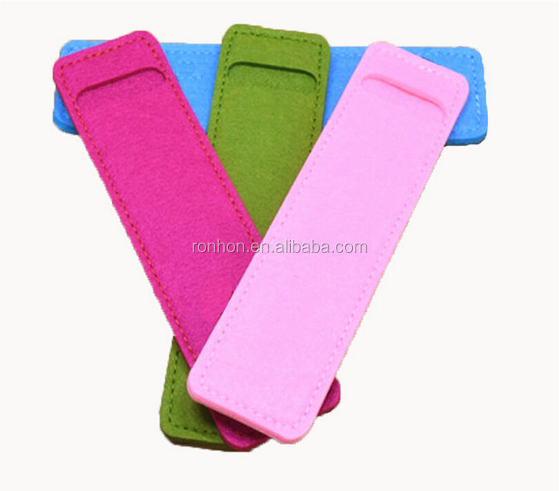 Candy Color Felt Pen Protecter Customized Pencil Bag Promotion Pencil Pouch