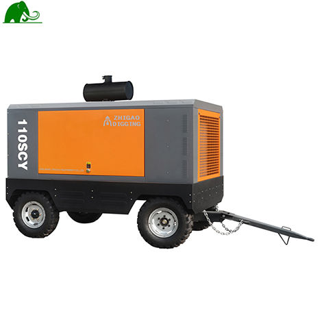 158SCY 17 bar 530cfm Diesel air compressor for mining