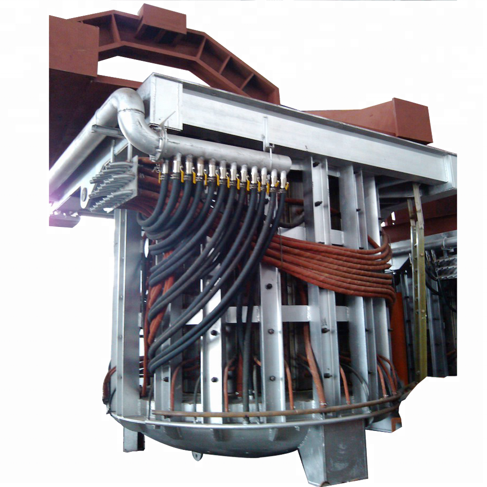 Induction furnace-intermediate frequency metal melting furnace for sale (small and big)