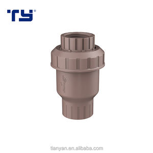 PVC-U Plastic Female Thread Check Valve