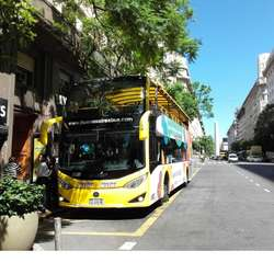 City Sightseeing Bus GPS Multlingual Tour Commentary Tourist Bus