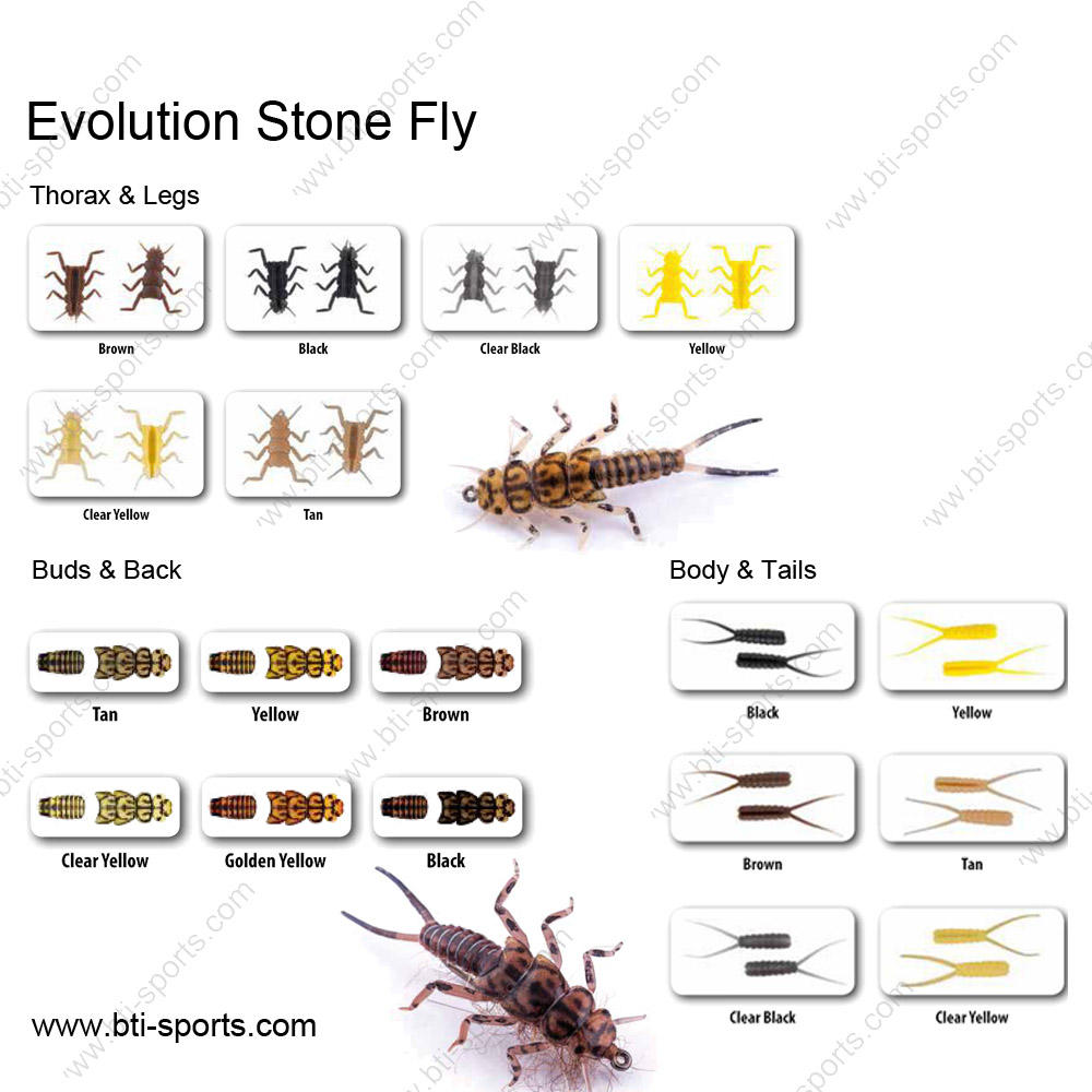 Stonefly Nymphen & Stonefly Nymph Fly Patterns binden teile wahre fliegt Fly fishing realistische material