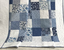 100% Cotton Bed Sheet Patchwork Quilt