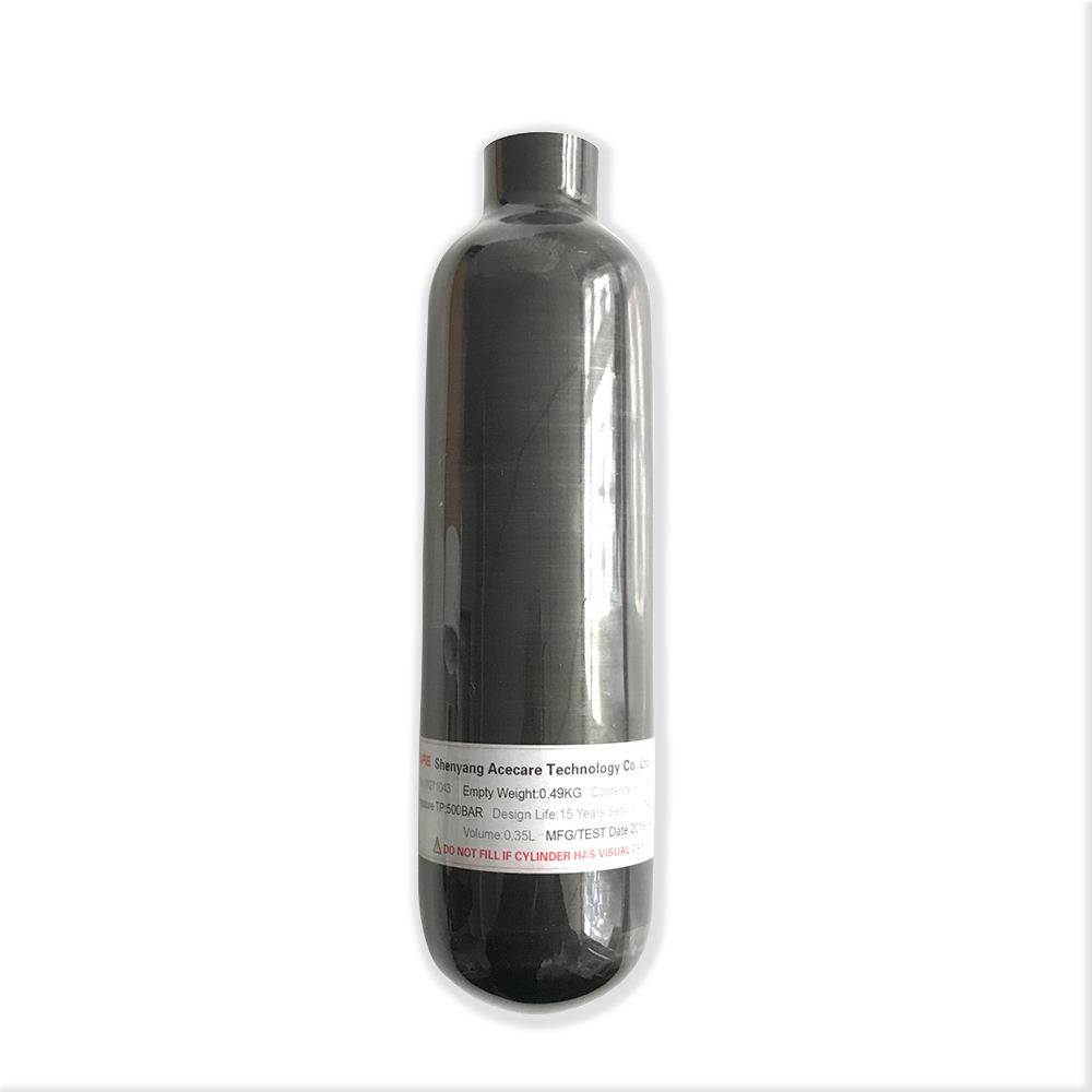 New fashion paintball use 0.35L 4500psi 30Mpa air cylinder/carbon fiber tank hpa air tank for sale