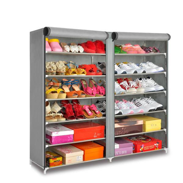 Swdesala unidades de la esquina mobiliariodesala multi- propósito compacto de la puerta de madera del gabinete del zapato