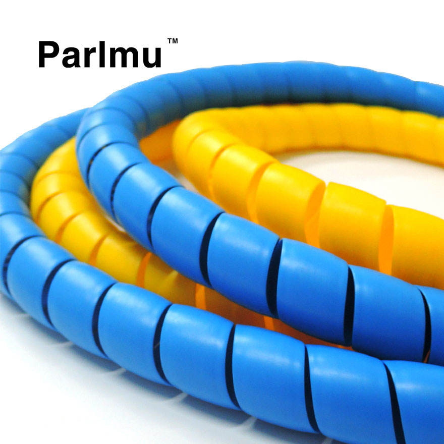 Durable Spiral Wrapping Sleeves Cable Spiral Hose Wrap