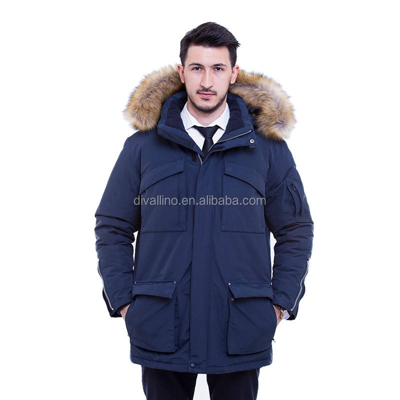 2018 One-stop Manufacturing Factory of Men's Winter Down Coat with Lowest Prices