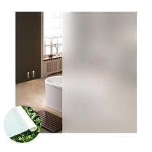 static cling window film frosted privacy glass office & bathroom