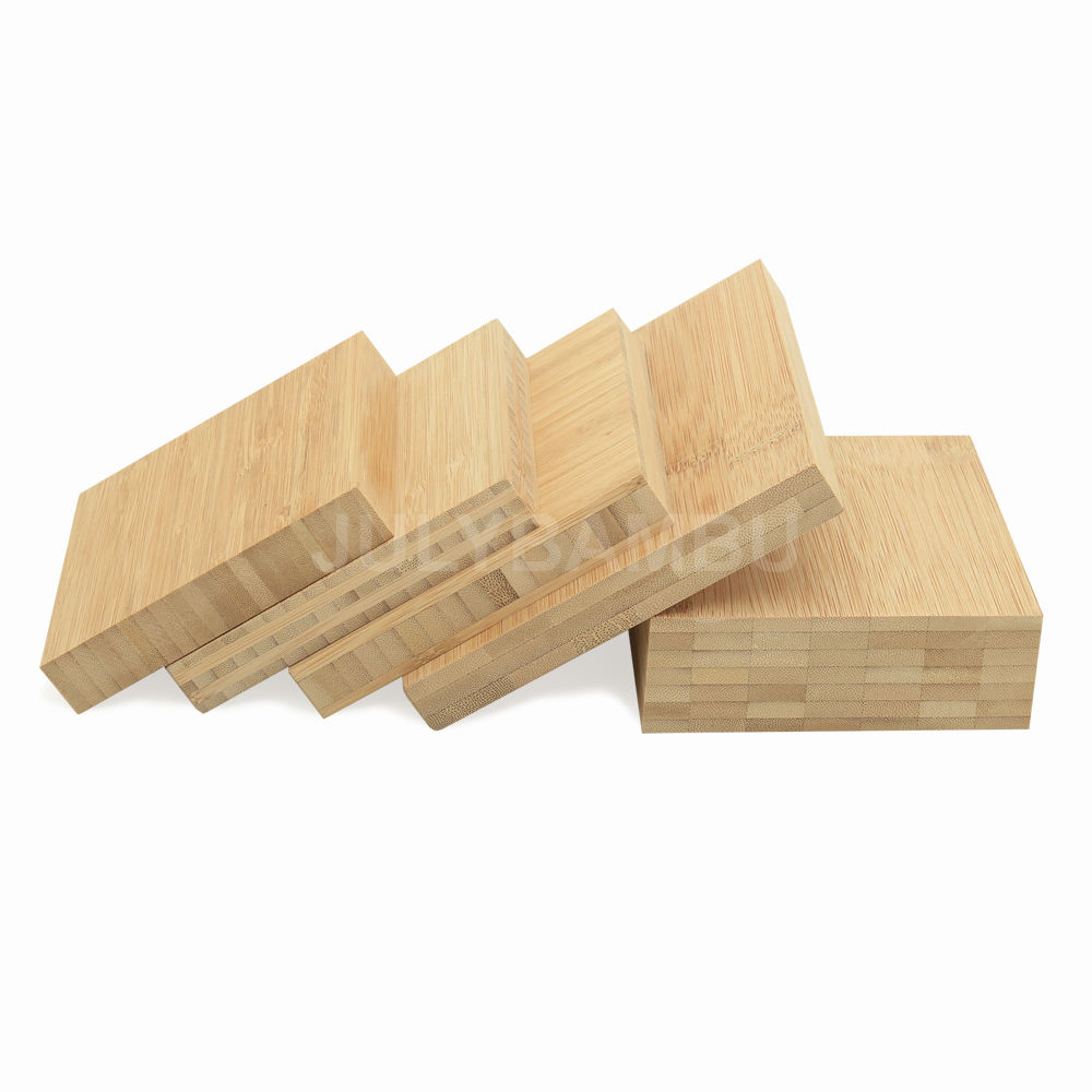 Solid Bamboo Plywood 1.5mm-100mm use for Furniture FSC certification bamboo panel factory