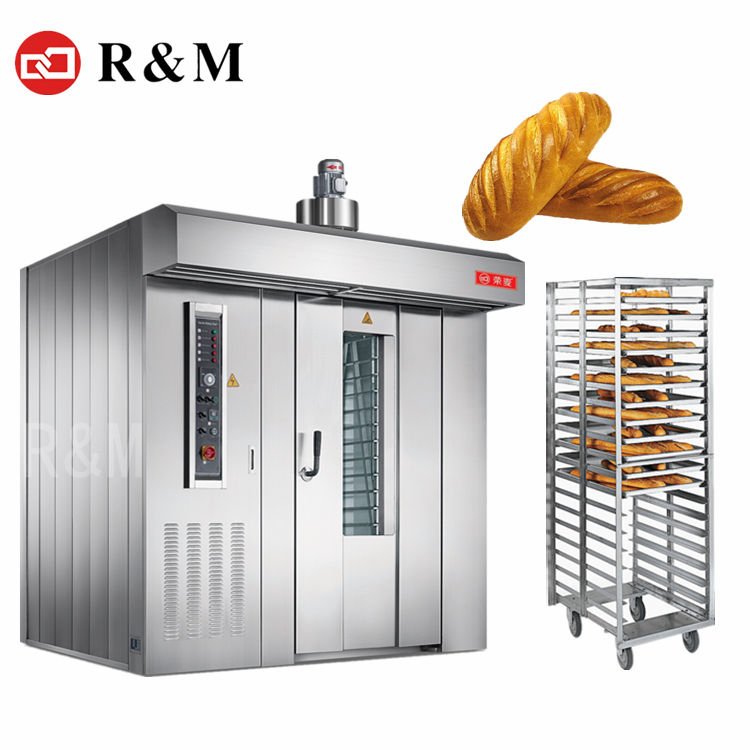 Industrial electric gas diesel bread making bakery rack baking oven bakery rotary rack ovens for sale,bakery rotary diesel oven