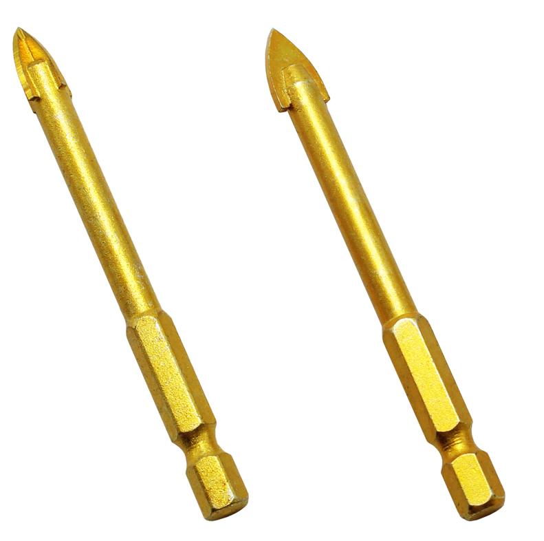 15Pcs 3mm 4mm 5mm Tipped Bohrer Twist Bohrer für Glas Fliesen Stein