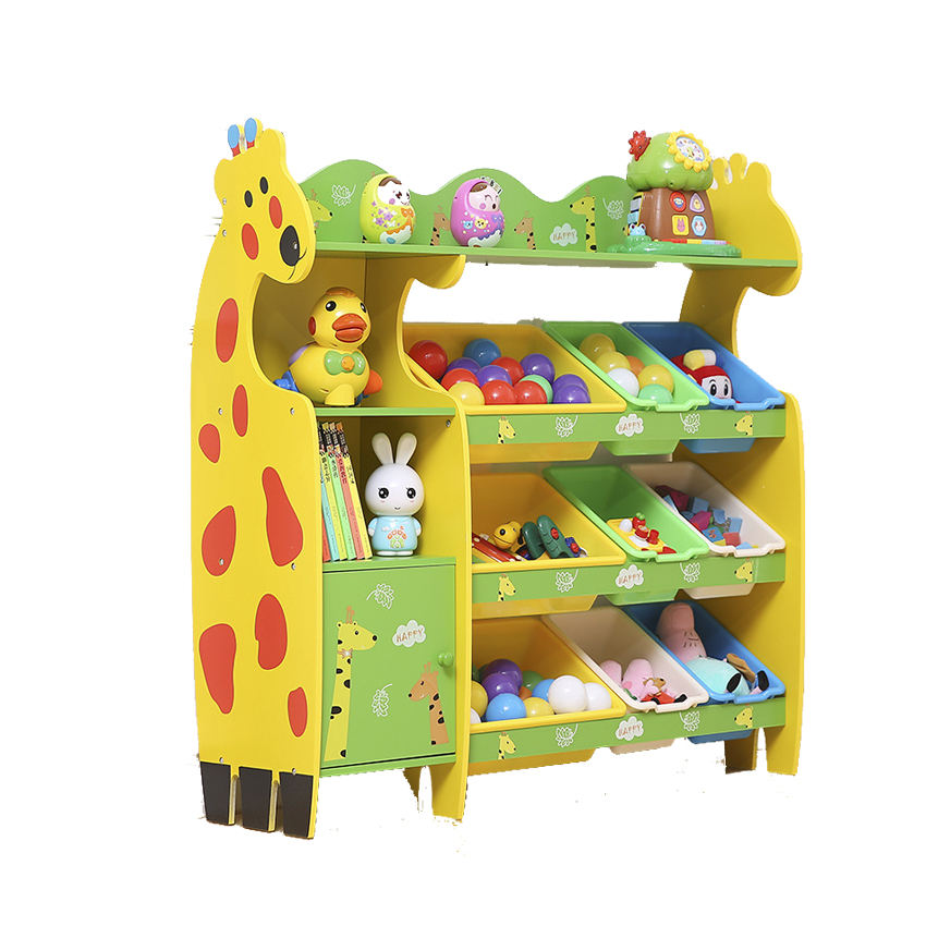Cheap Kid Bedroom Daycare Wood School Shelf Furniture Toys Cabinet For Sale