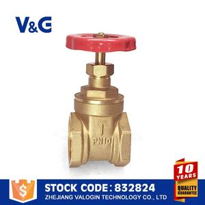 Valogin High Quality Casting Industrial Steel Handwheel Brass 3/4 forged gate valve
