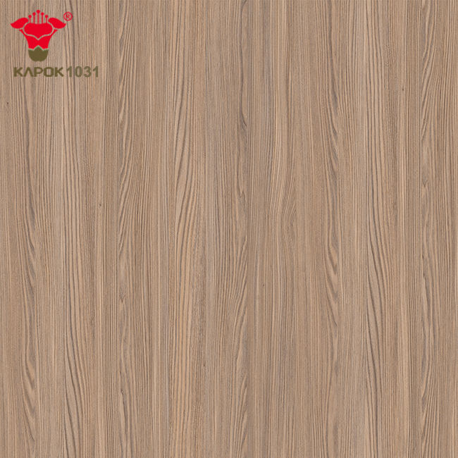 Kapok Panel Laminated Mdf Furniture Panels/Canada Price Melamine Embossed Mdf /Synchronize Mdf Supplier in China
