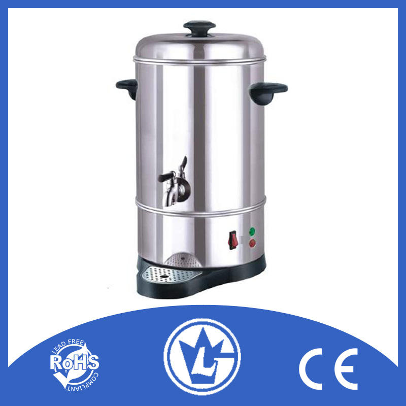 30L Electric Stainless Steel Catering Water Boiler Tea Urn Commercial Upgraded