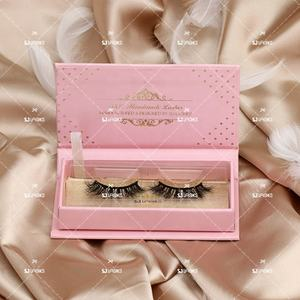 Handmade False 3D Vegan Strip Lashes With Personalized Lash Packaging