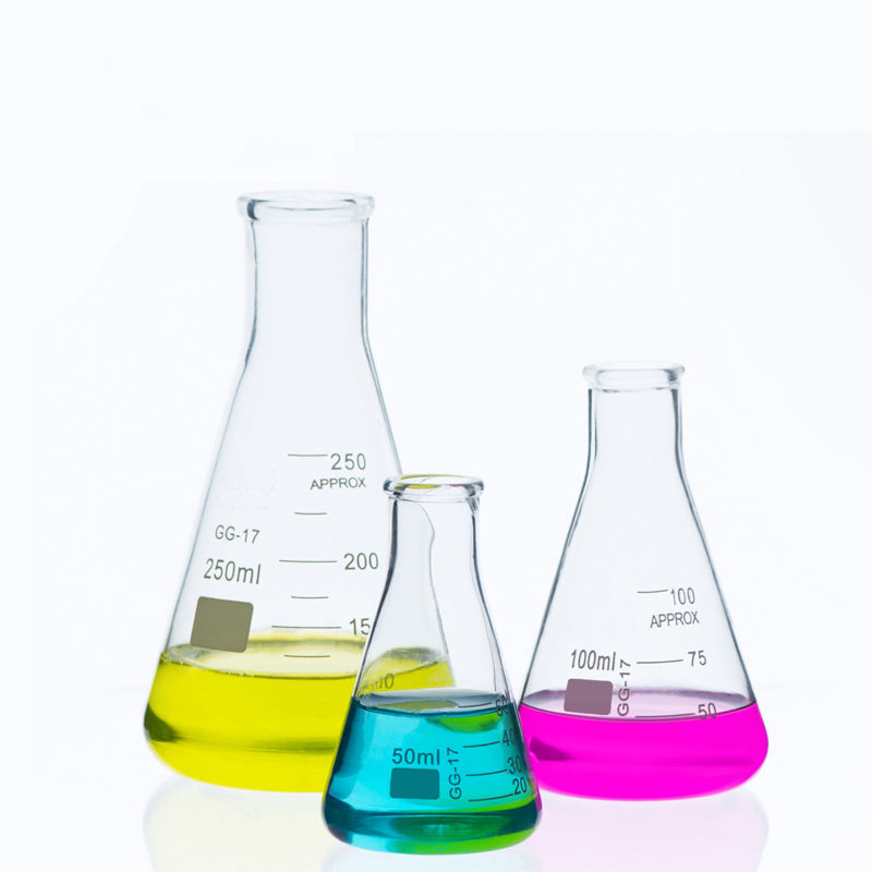 100ml 150ml 250ml 500ml 1000ml 2000ml 3000ml 50ml Glass Erlenmeyer Flask