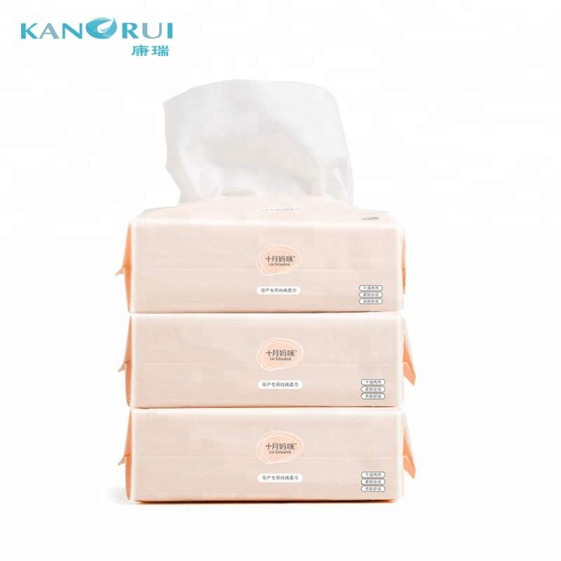 wholesale Dry Baby Wipes Soft Dry Cotton Wipes Baby Tissue Cotton for Sensitive Skin