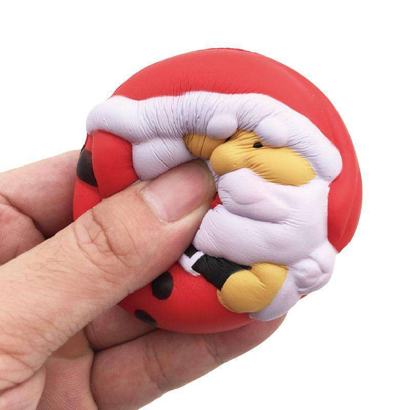 soft PU slow rising squishy kids stress ball for Christmas