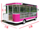 5m* 2m * 2.45m 4000W super large space hot sale cheap exhibition food car food trailer mobile snack food truck
