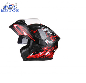 Chinese whole sale Grade Retro full face motorcycle ski helmet for moto casco