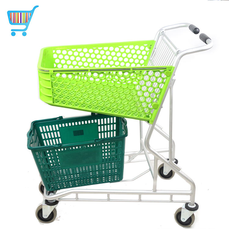 new design portable metal smart supermarket miniature wire mini retail cart shopping cart