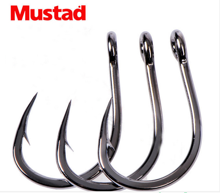 FUNADAIKO Strong Stainless Steel bulk hook fishing Tackle jigging hook high carbon steel hook