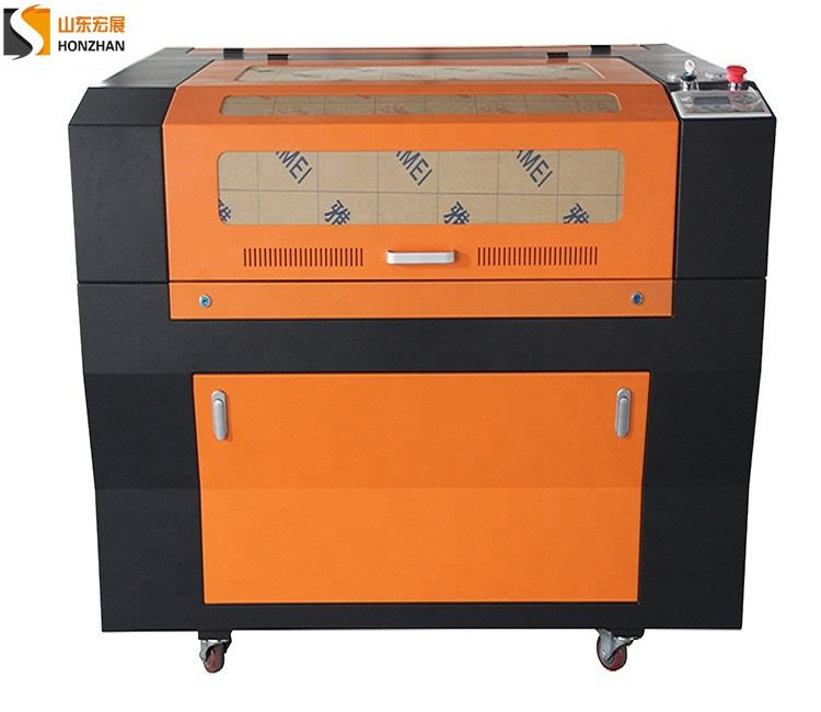 Red wine box laser engraving and cutting machine use 60W co2 laser tube