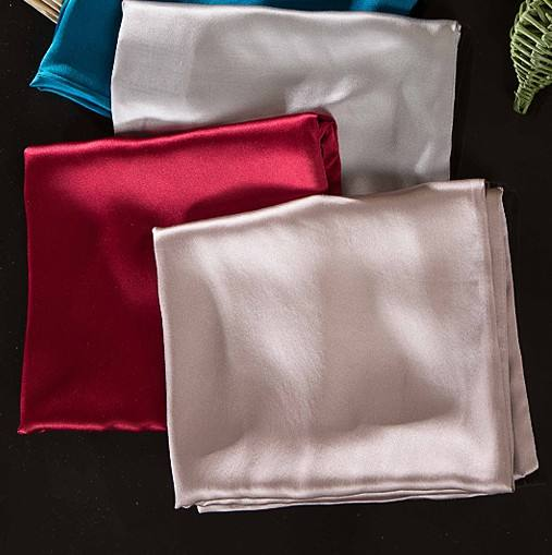 Wholesale Customized Color Pure Silk Satin Pillowcase For Home And Hotel