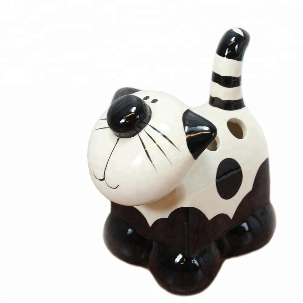 Gốm/Cat/Feline/Pen/Bút Chì/Chủ/Dispenser/New