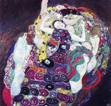 The Virgin oil painting reproduction by Gustav Klimt
