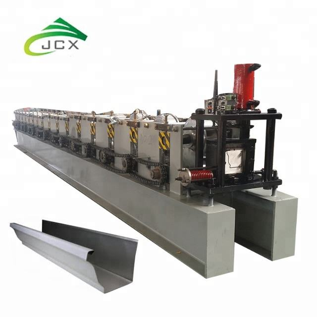 Automatic Metal Seamless K style Rain Gutter Roll Forming Machine