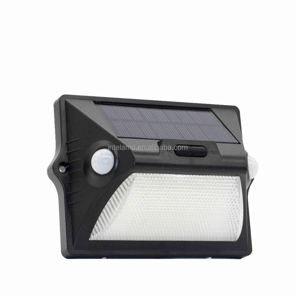 Hot selling in middle east solar led motion sensor Wall lamp 12 LED Solar Outdoor light