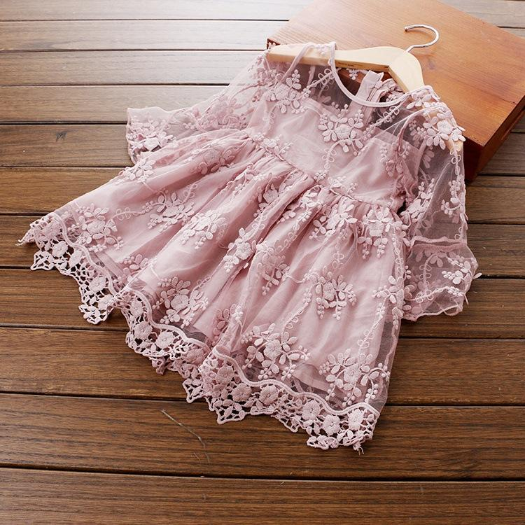 Europe Market sleeveless girl dress for sale with factory price