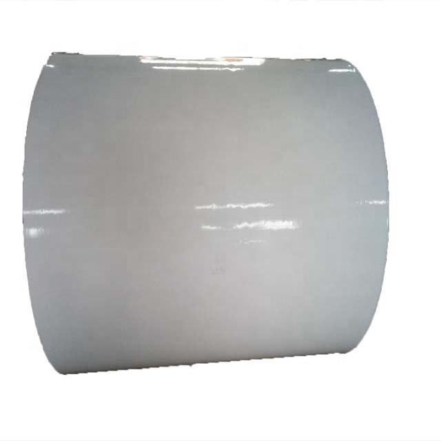 Factory Self Adhesive film 5MIC Matte Silver PET For Sticker Label Papers (water based GLUE) 120g white paper bottom
