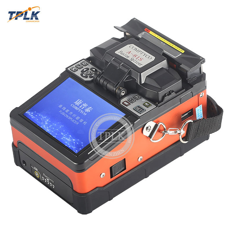 Fiber Fusion splicing machine A-81S Fiber Optic Fusion Splicer Fully automatic Optical fiber welding machine