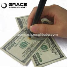 New design UV light euro money banknote tester  pen note detector pen