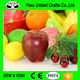 Lifelike Decorative Plastic Artificial Fake Fruit Home Deco Craft Red Apple