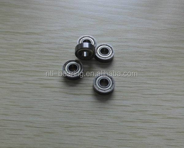 Inch size mini ball bearing R4ZZ/R4RZ/R4RS