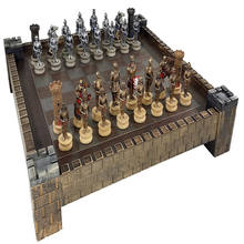 Hot Sale Personalized Handmade Gold Chess Set