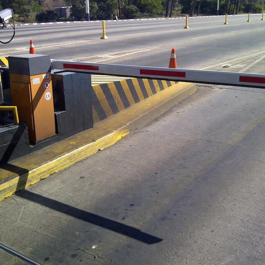 0.8s High Speed Access Control Traffic Barrier for Toll