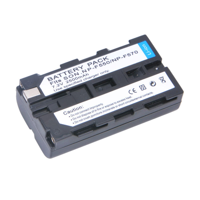 NP-F550 NP F550 NPF550 Rechargeable Li-ion Lithium Battery For NP-F330 NP-F530 NP-F570 NP-F730 Digital Camera