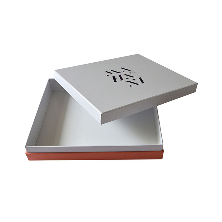 Luxury eco friendly paper clothing T shirt box packaging
