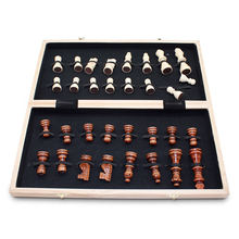 International Wooden Chessboard Travel Set Chess Board