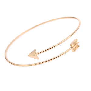 factory women indian cuff gold arrow cheap bracelet
